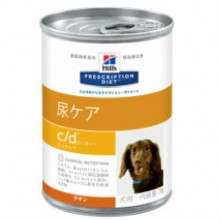 Hill's犬用 尿ケアC/Dマルチケア 370g缶