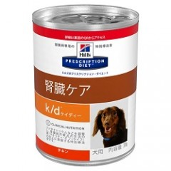 Hill's犬用 K/D 370g缶